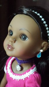 Heart for Hearts Girls - Nahji Doll by Mixed Family Life _ Face Close Up