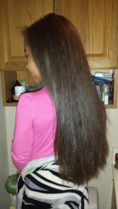 So you want to straighten your Curly Kids Hair _ E'Tae Natural Products Carmelux Combo Kit _ Straight Hair After