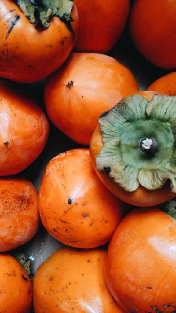 orange sharon fruit lot