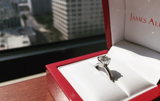How I Bought a True Hearts Diamond Engagement Ring from James Allen