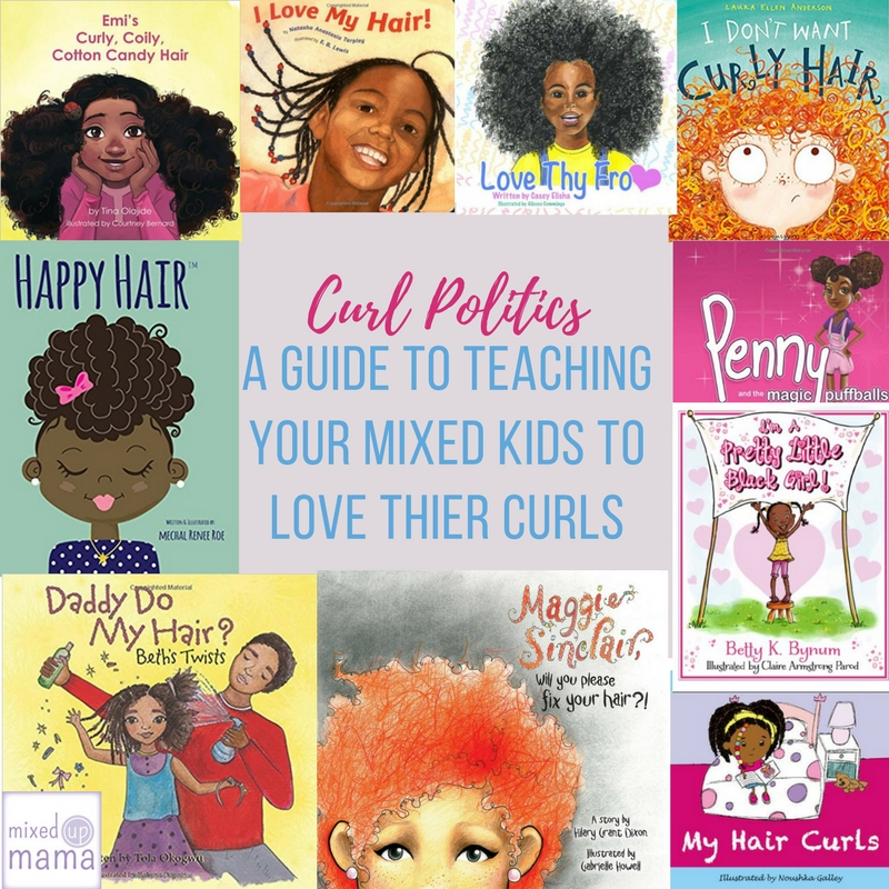 A Guide to Teaching Your Girls to Love Their Curly Hair