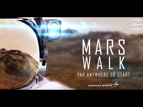 Mars Walk Virtual Reality App