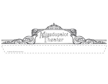 puppet theater marquee