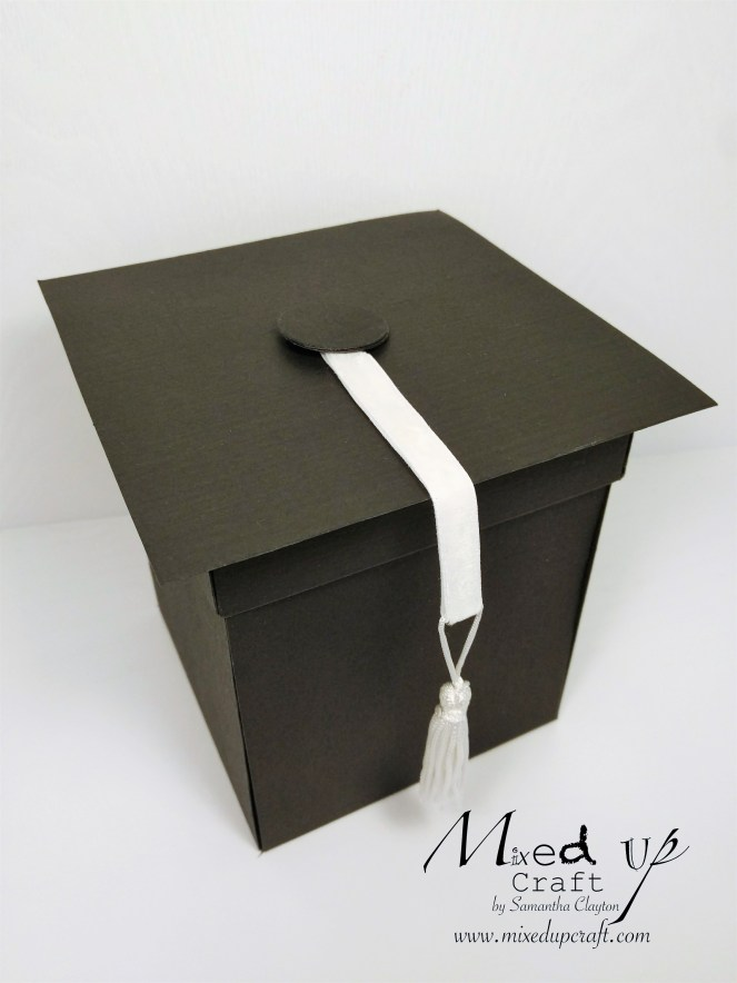 Graduation Explosion Box Card