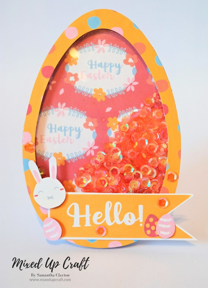 Easter Shaker Card