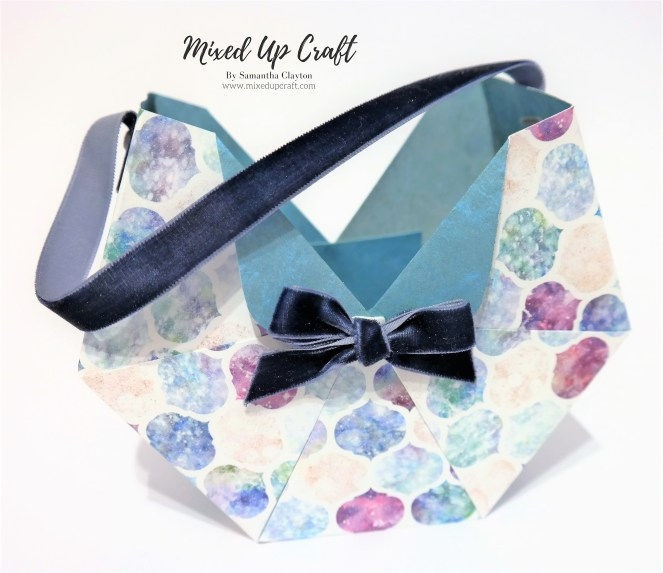 Octagon Shaped Gift Bag