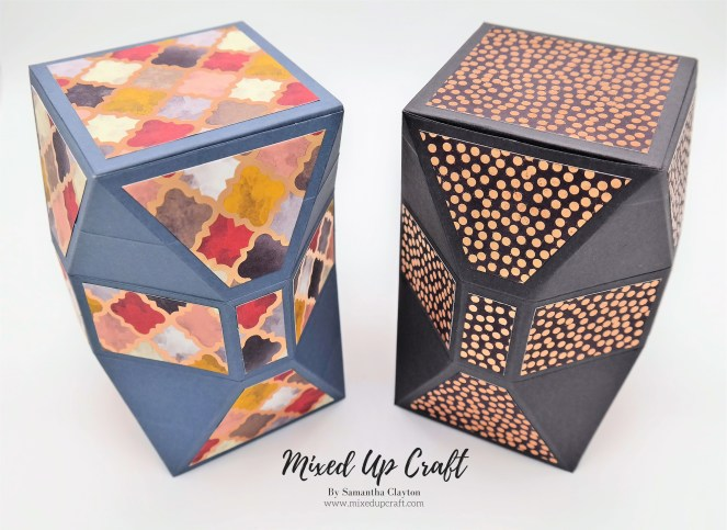 Unusual Faceted Gift Boxes