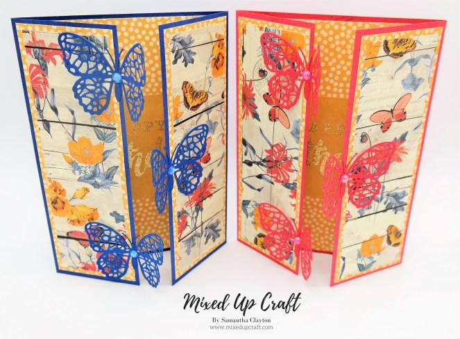 Butterfly Gate Fold Card
