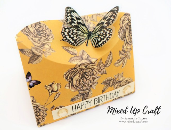 Curved Butterfly Pop Box