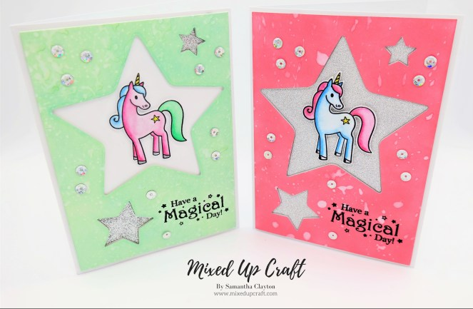 Unicorn Star Card