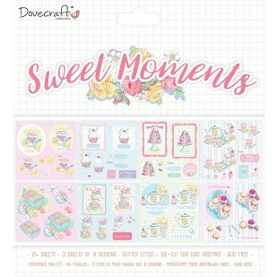 "Dovecraft ""Sweet Moments"" Decoupage Pack"