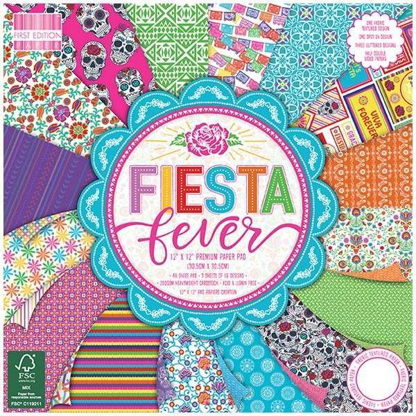 "First Edition ""Fiesta Fever"" papers"
