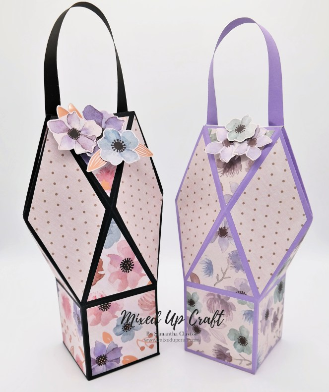 Pretty Faceted Gift Bags