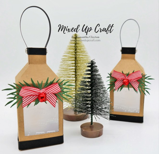 Mini Lantern Tree Decorations.