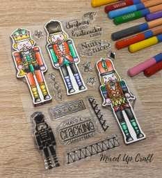 Nutcracker Kisses Stamp Set, For the Love of Stamps