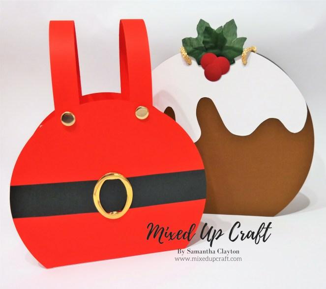 Festive Gift Bags, Christmas Pudding & Santa's Trousers
