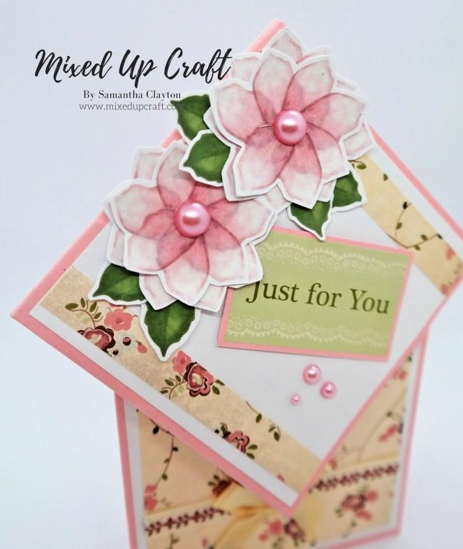 Diamond Top Fold Card