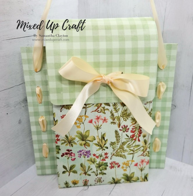 Beautiful Woven Ribbon Gift Bag