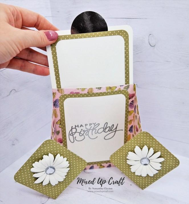 Diamond Gatefold Card