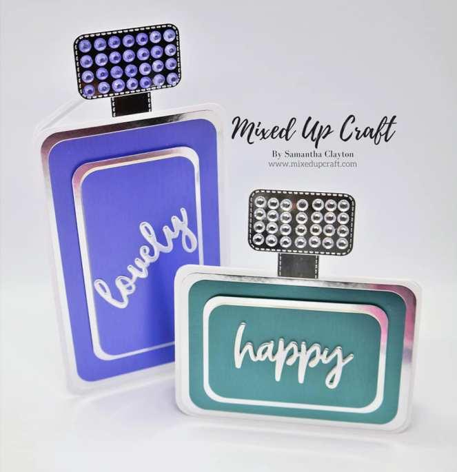Perfume Bottle Cards