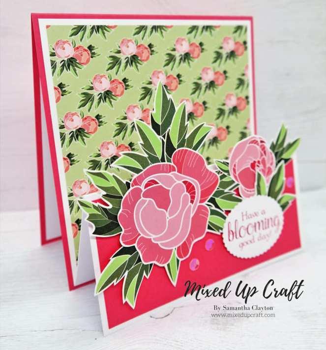 M Fold Card
