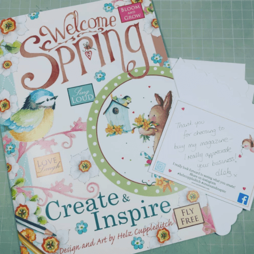 Helz Cuppleditch Welcome Spring Magazine