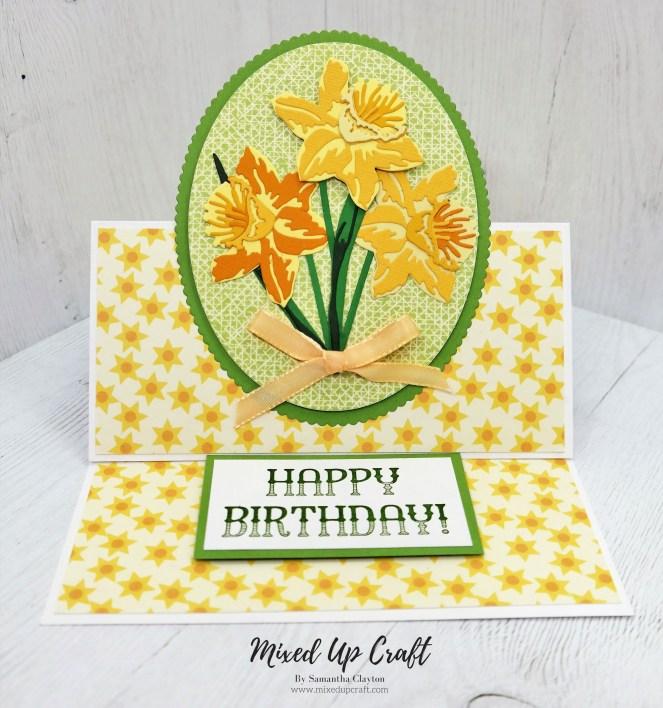 Daffodil Easel Card