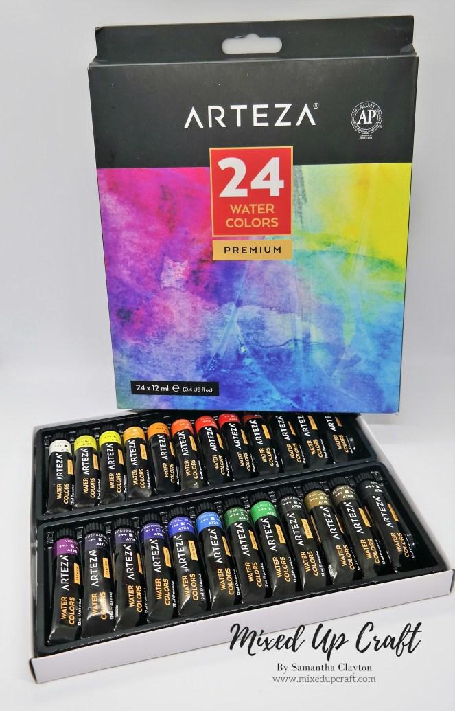 Arteza Premium Watercolour Paints
