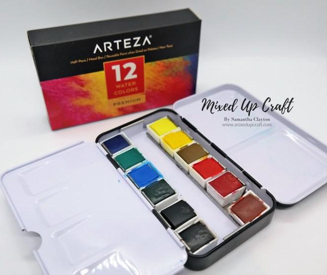Arteza 12 Watercolours