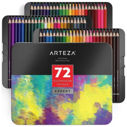 Arteza Watercolour Pencils