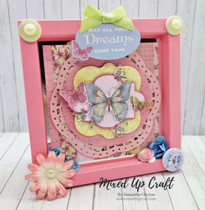 Shadow Box Frame Card