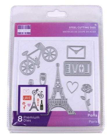First Edition 'Paris' die set.