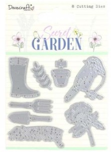 Secret Garden Cutting Dies