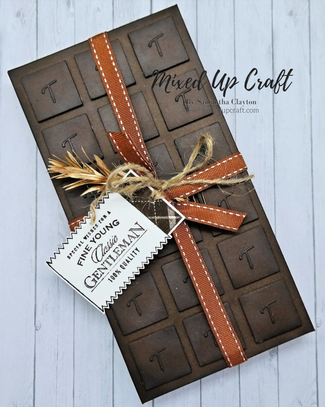 Chocolate Bar Style Gift Box