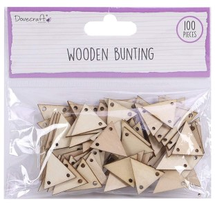 Dovecraft Wooden Bunting