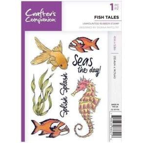 Crafter's Companion Fish Tales stamp set.