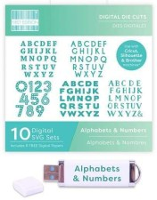 First Edition Digital Alphabet and Number Dies