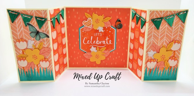 Double Gatefold Card