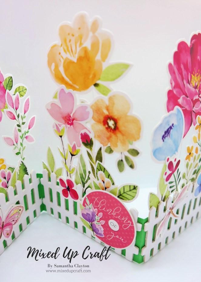 Concertina Garden Card