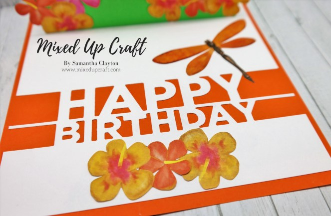 Dragonfly Pop Up Card