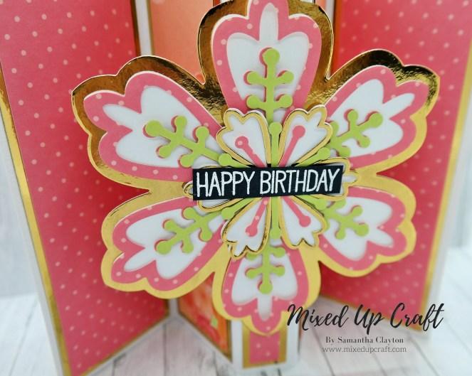 Pop Out Gatefold Card