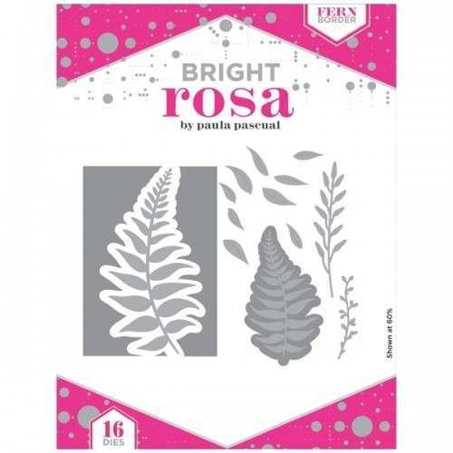 Bright Rosa Fern Border Dies