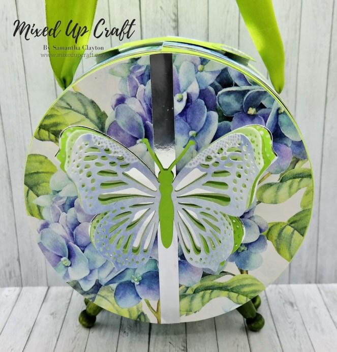 Hinged Circle Gift Bag With Feet