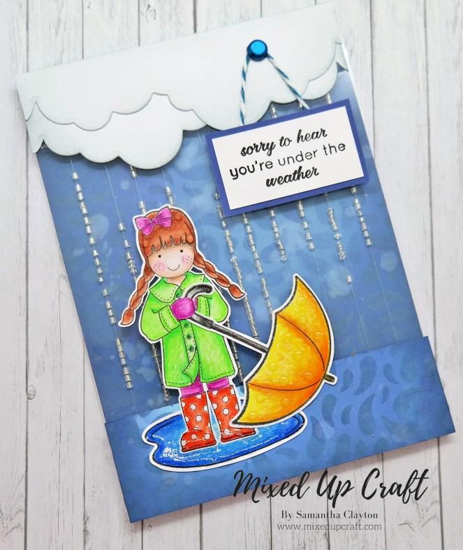 Rainfall Shaker Card