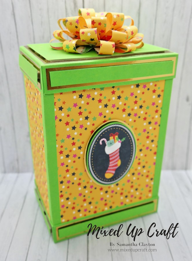 "Large 8"" x 5.1/2 Flip Lid Gift Box"
