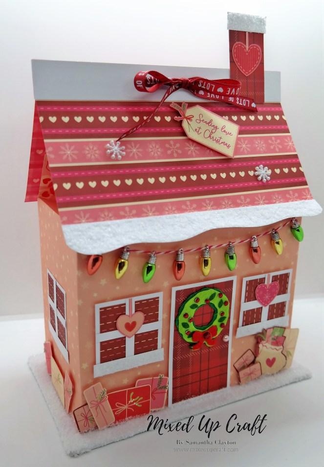 Amazing Christmas Cottage Gift Box