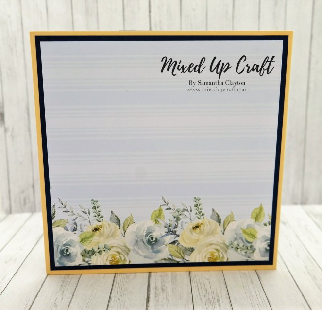 Easy Concertina Pop Up Card