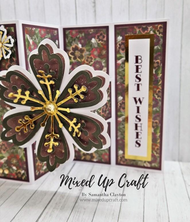 Pop-Out Z Fold Card