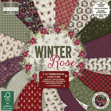 First Edition Winter Rose