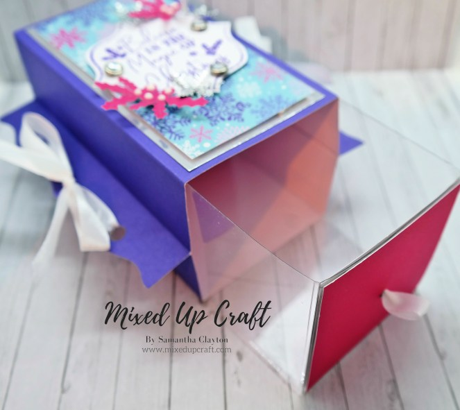 Unusual Winged Gift Box With Sliding Draw